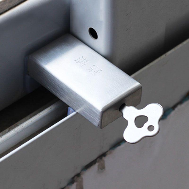 Nuevo Bebé multifuncional Seguridad gabinete pestillo limitador ventana casa antirrobo Tapones puerta corredera bebé niños + llave