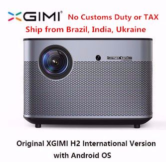 Original XGIMI H2 Projector Home Theater 300 Inch 1080P Full HD 3D Android Bluetooth Wifi Suppor4K DLP TV Beamer