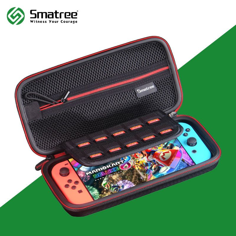 Smatree EVA Protective Hard Case Carrying Bag for Nintend Switch,Nintendo Switch Console Cards