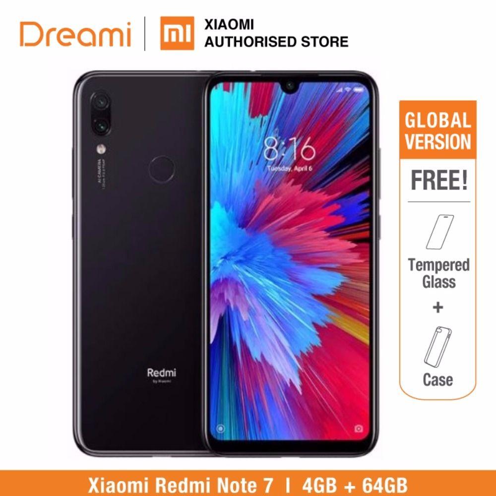 Version globale Redmi Note 7 64 GB ROM 4 GB RAM (boîtier neuf et scellé) note7 64 gb