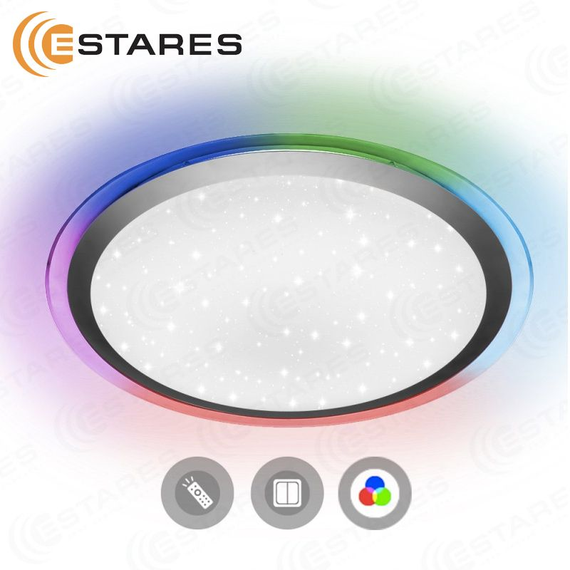 Estares Gesteuert LED lampe ARION 60 W RGB R-535-SHINY-220V-IP44