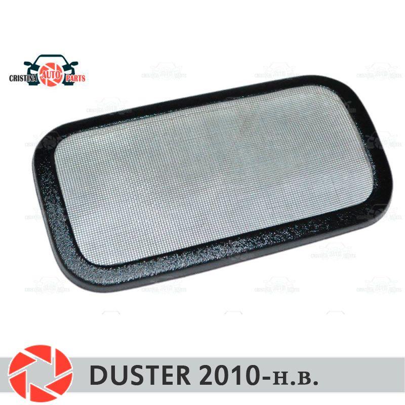 Filter mesh unter jabot für Renault Duster 2010-2018 kunststoff ABS schutz dekoration geprägte außen auto styling zubehör