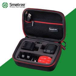 Smatree GS75 Shockproof Protective Storage Travel Carrying Case for GoPro HERO 5/4 Session(Camera and Accessories NOT included)