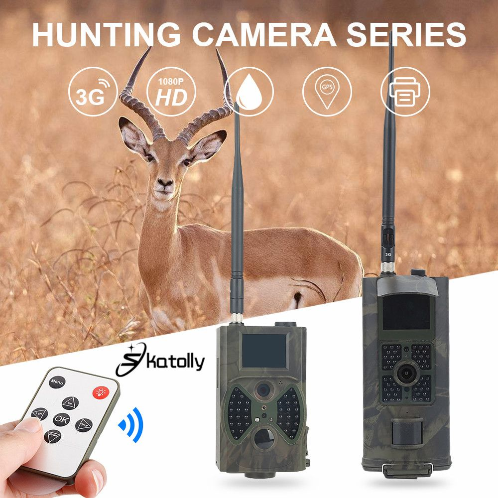 Skatolly Hunting Camera HC300M HC700G HC800M 3G GSM 1080P Photo Traps Infrared Night Vision Wild Trail Cameras Scouting Chasse