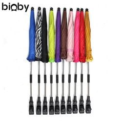 Bébé Enfants Poussette Landau Parasol Parapluie UV Protection Poussette Parapluie Droit Clip 180 Degrés Rotation Poussette Accessoires