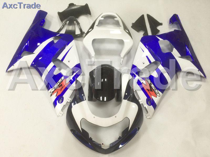 Motorcycle Fairings Kit For Suzuki GSXR GSX-R 600 750 GSXR600 GSXR750 2001 - 2003 K1 ABS Injection Fairing Bodywork Kit Blue A10