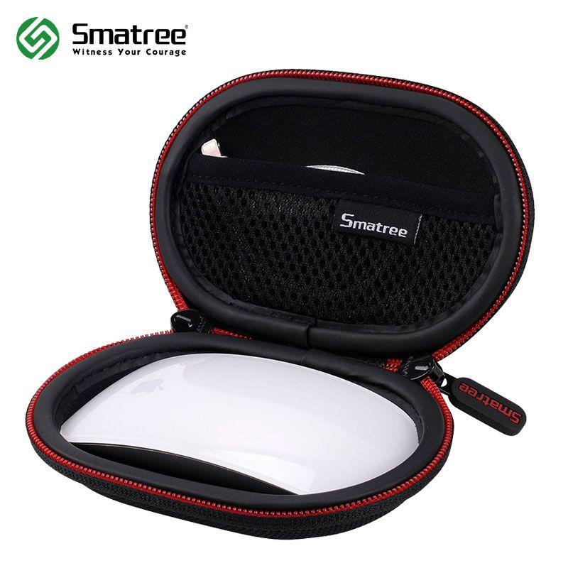 Smatree Dur Étui de Transport pour Apple Magic Mouse Portable Dur De Protection Sac pour écouteur câble de données Mini Souris Cas
