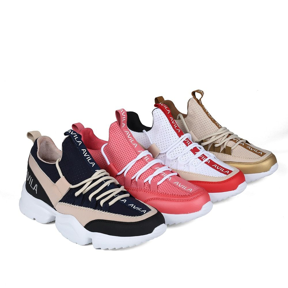 Women's sneakers ugly sneakers AVILA RC720_AG020013-04-4-1 spring runing shoes sport shoes PU for female Ship from Russia
