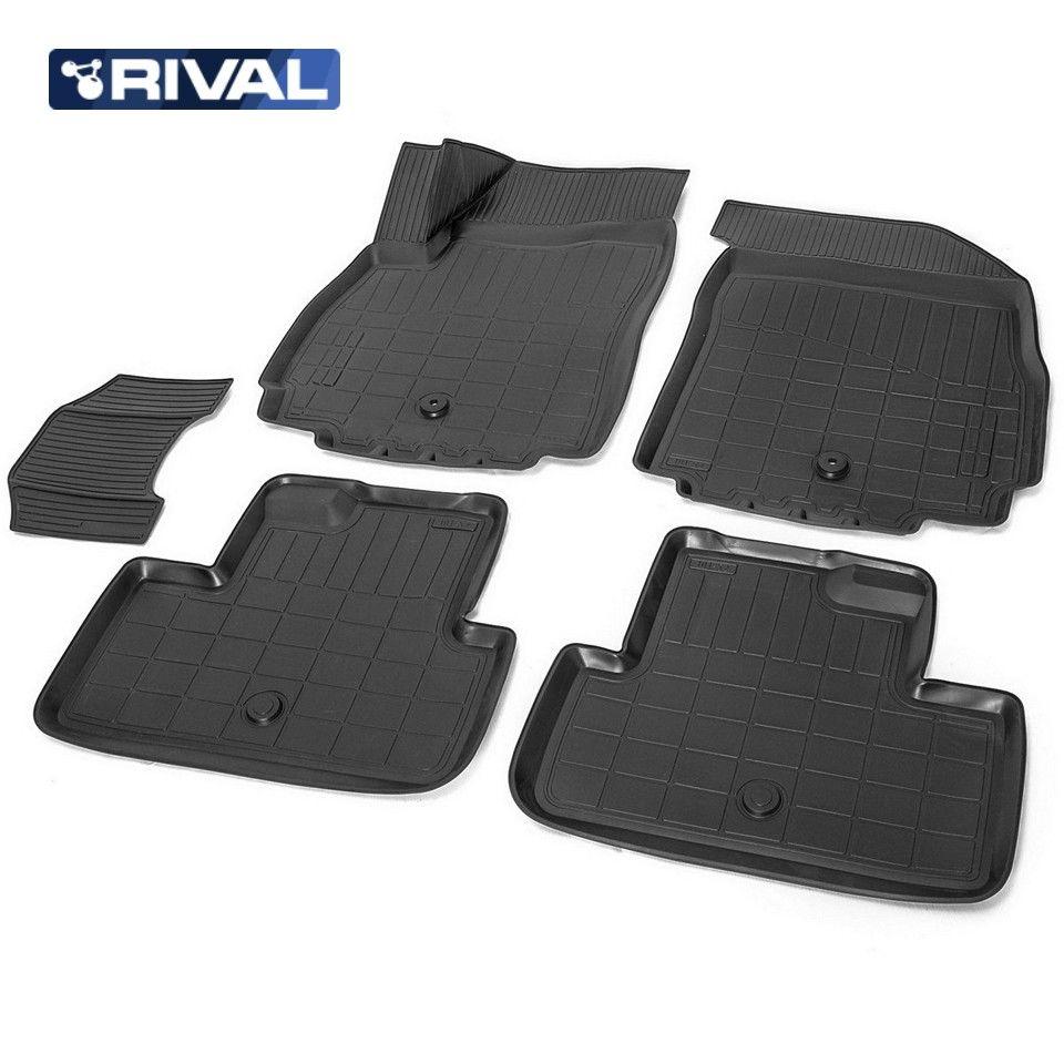Für Chevrolet Orlando 2011-2015 3D boden matten in saloon 5 teile/satz Rivalen 11005001