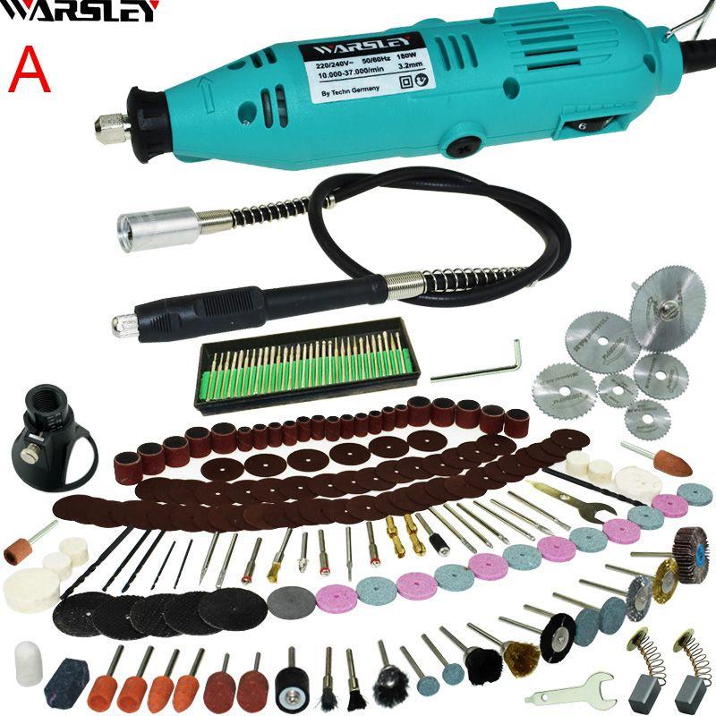 Engraver Electric Drill Dremel Mini Drill DIY Drill Grinder Engraving Pen Grinder Electric <font><b>Rotary</b></font> Tool Mini-mill Grinding 180W