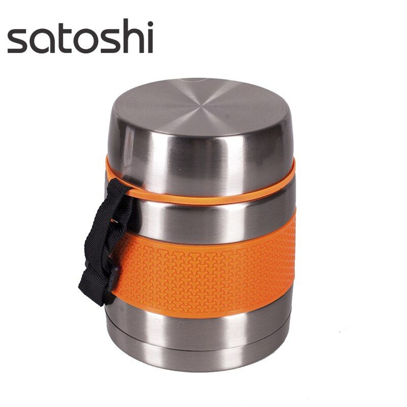 Thermosmittagessenkasten edelstahl, satoshi 1, 00l rabatt verkauf hohe qualität urlaub reisen wandern locken 841-629