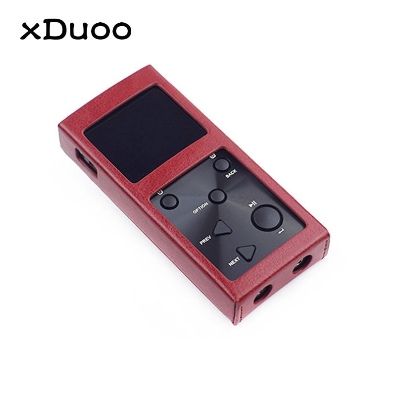 Original XDUOO X3 MP3 Leder Fall MP4 Musik Player Leder Schutzhülle Zubehör Tragbare Lagerung MP3 Fall Für Xduoo X3