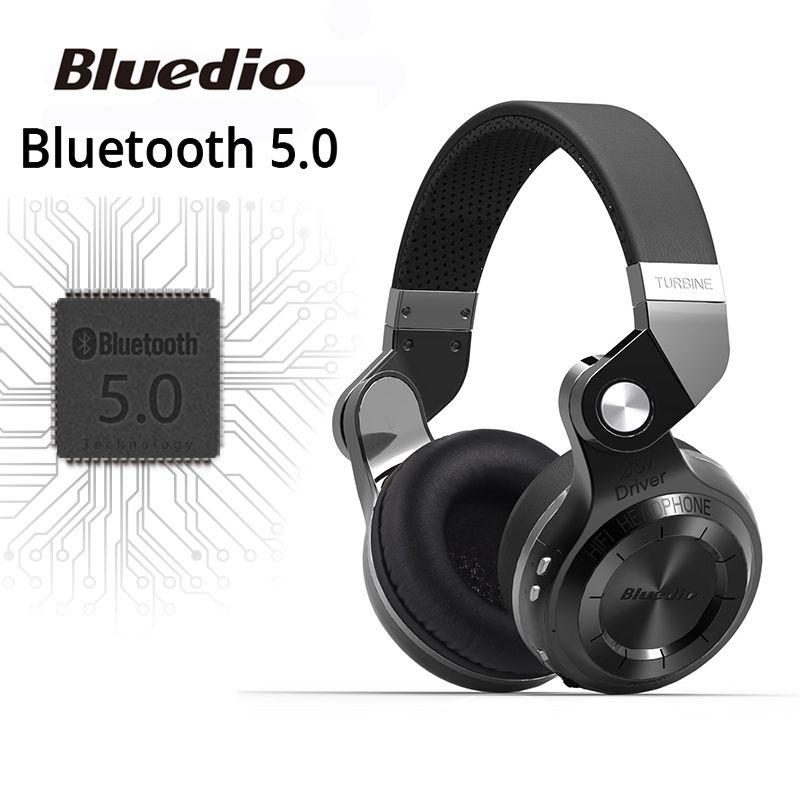 Original Bluedio T2S bluetooth headphones with microphone wireless <font><b>headset</b></font> bluetooth for Iphone Samsung Xiaomi headphone
