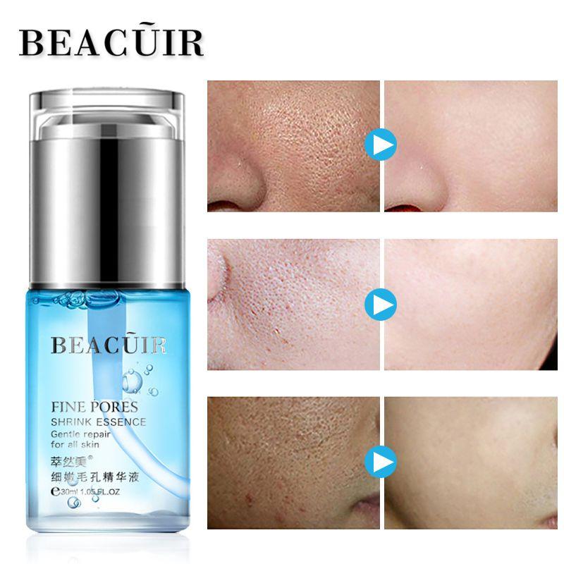 BEACUIR 100% Plante Hyaluronique liquide Acide Hydratant Sérum Pour Le Visage Blanchissant Rétrécir Les Pores Soins de La Peau Anti-Vieillissement Anti Rides Crème