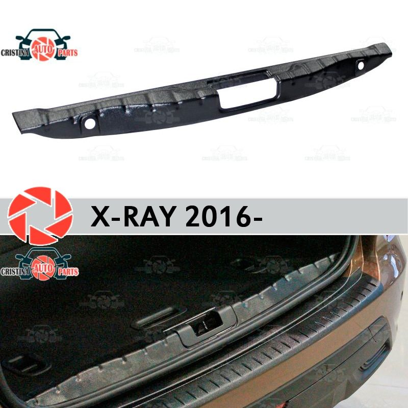Abdeckung auf die sill stamm für Lada X-Ray 2016-stamm sill schritt platte inneren trim zubehör schutz auto styling