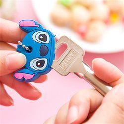 2081 Corea lindo animal juegos de llaves de llavero colgante de dibujos animados juegos de teclas