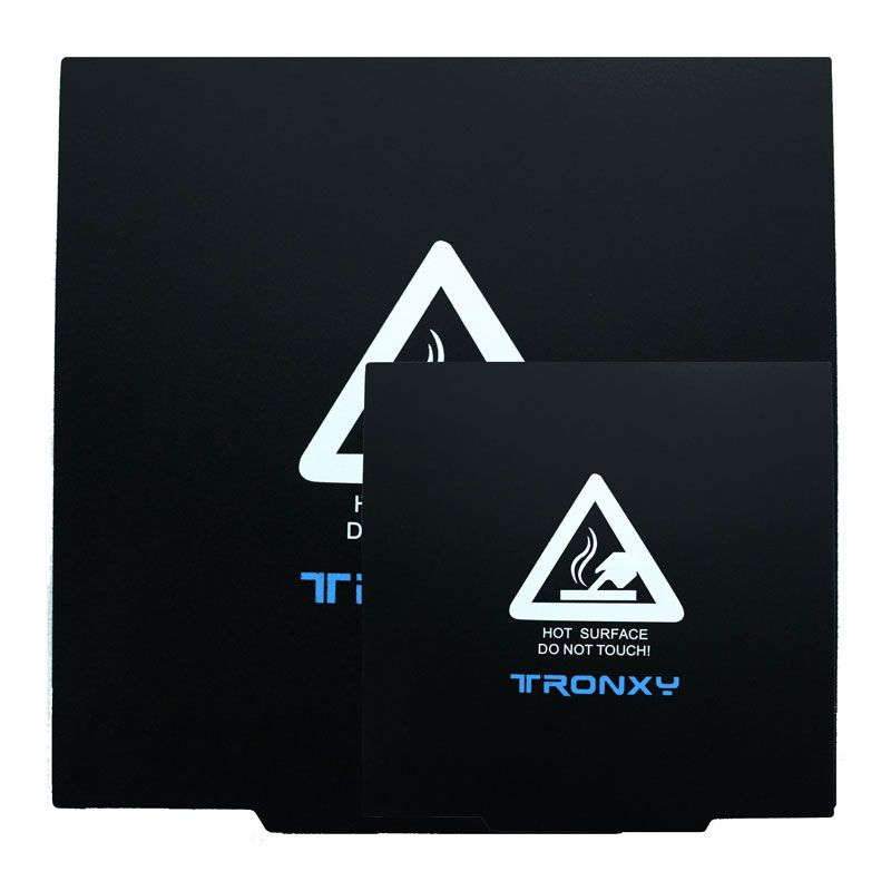 Magnetische Bauen Oberfläche Platte Tronxy 3D Drucker Teil Magnetische Wärme Papier Flexible Plattformen 220*220/330*330mm für Brutstätte