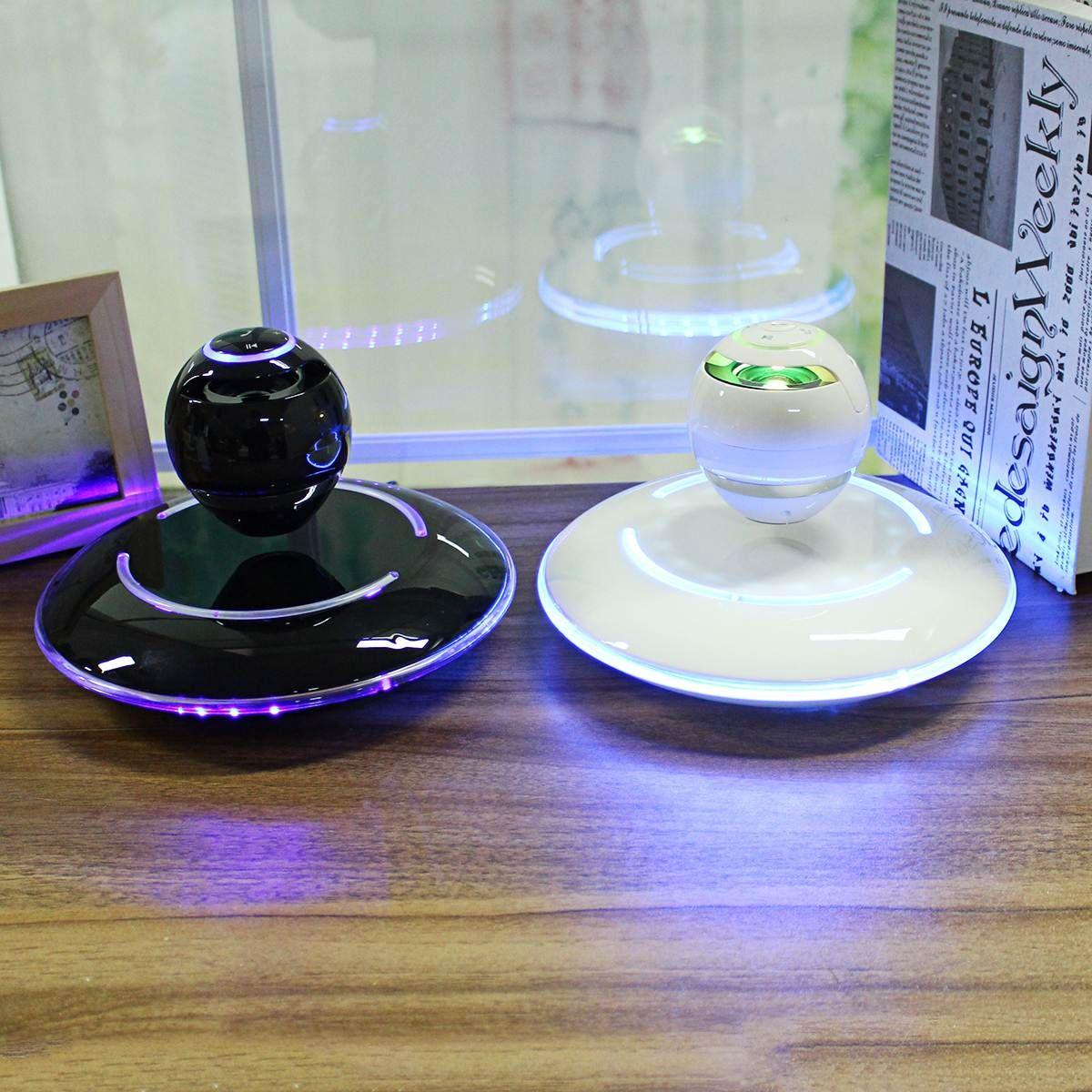 Sans fil Lévitation Bluetooth Globe Haut-Parleur 360 Degrés Stéréo Lecteur LED Subwoofer