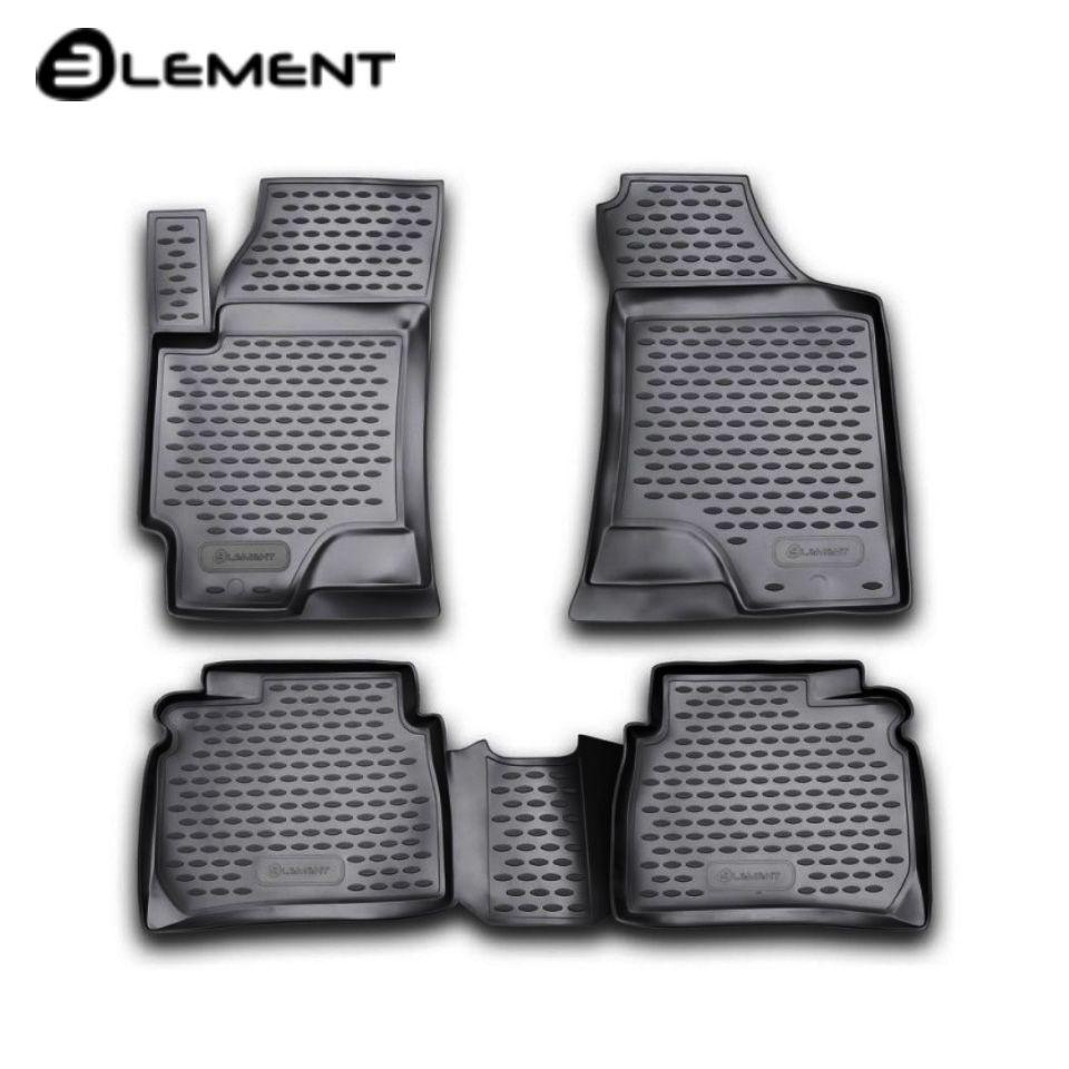 Für Hyundai Elantra xD 2001-2006 boden matten in saloon 4 teile/satz Element NLC2007210