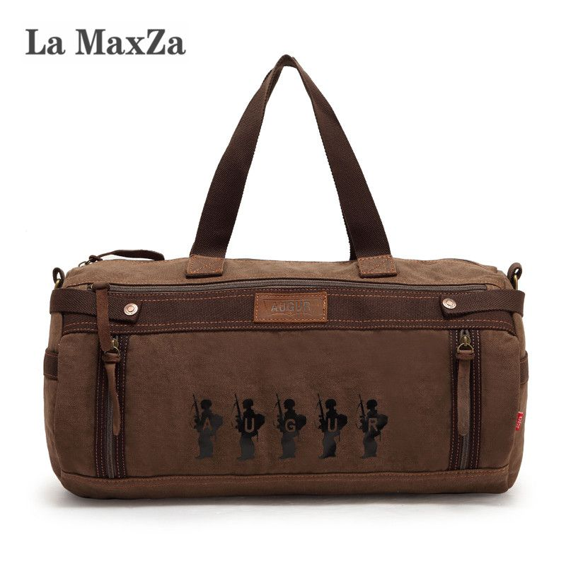 La maxza New Multifunctional Canvas Bag Casual Unisex Canvas Bucket Bag Cross <font><b>Border</b></font> Supply