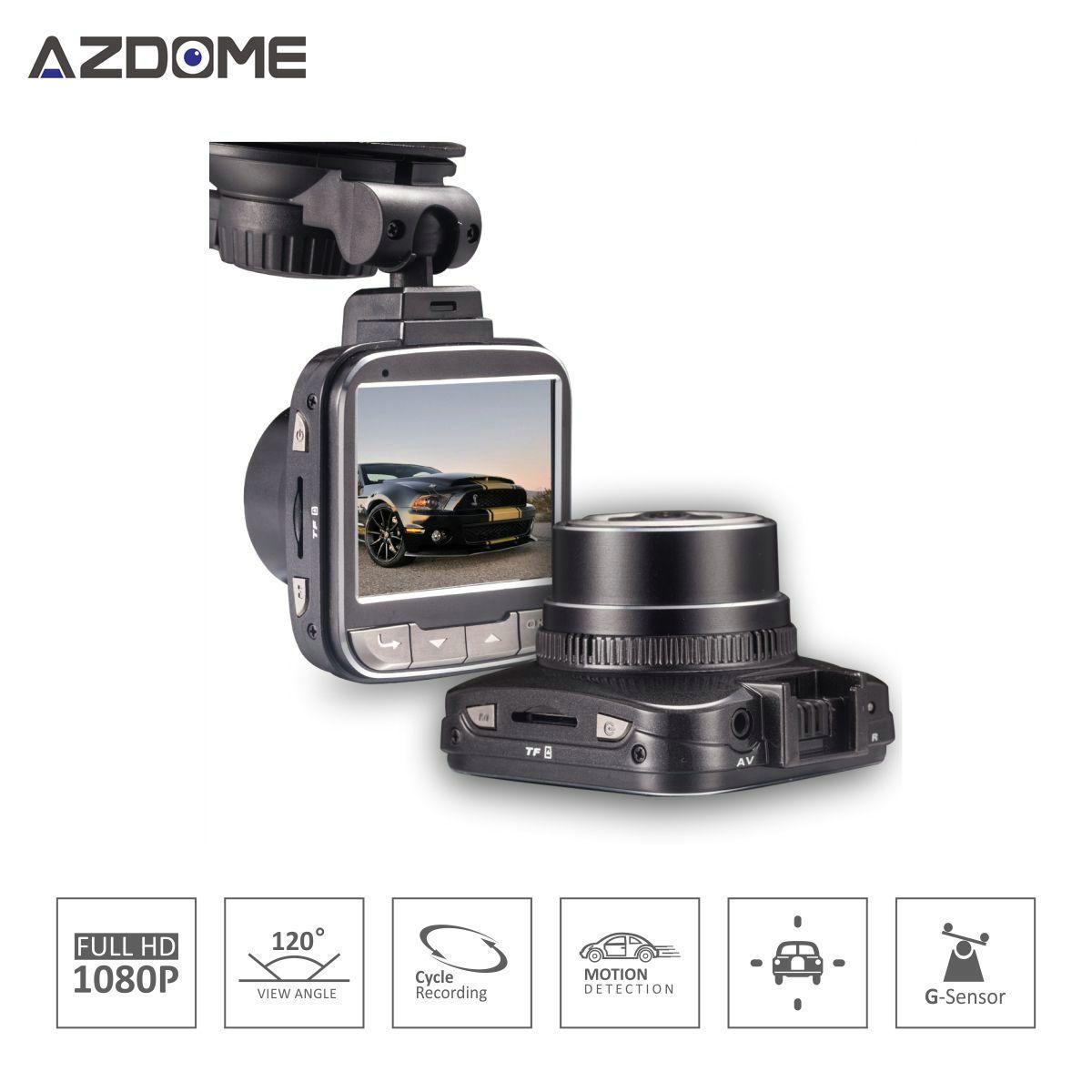 Azdome G50 Car DVR Auto Camera Novatek 96650 Chip Full HD 1080p 30fps Dash Cam 2.0'Lcd G-sensor WDR Car Video Recorder H15