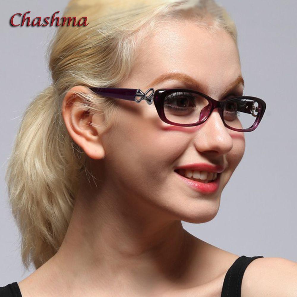 Chashma marque de mode femmes lunettes de lecture belles lunettes optiques pour les filles lunettes de lecture 1.0, 1.5, 2.0, 2.5, 3.0, 3.5