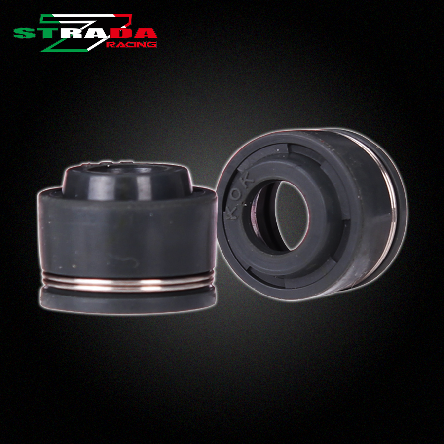 16PCS/set Hight Quality Valve Oil Seal Intake & Exhaust For Honda Steed400 Steed600 steed 400 600 Motorcycle Accessories
