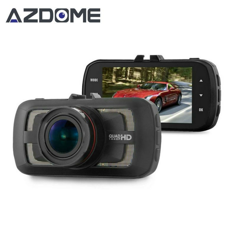 Azdome DAB205 Ambarella A12 Dash Cam FULL HD 1440 P 30fps Voiture DVR Caméra 3.0