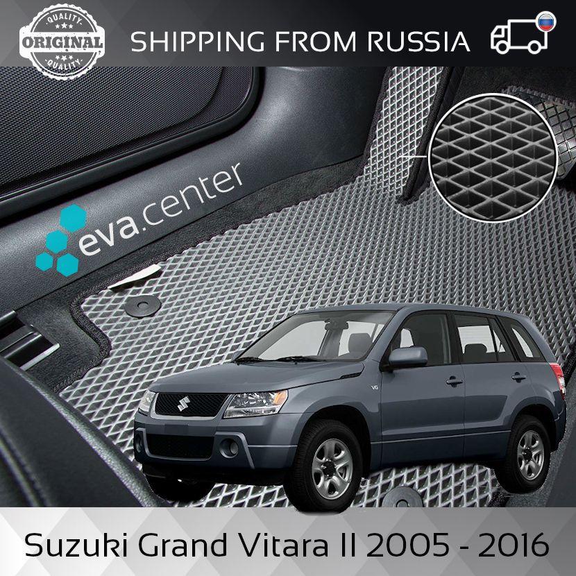 Auto Matten EVA für Suzuki Grand Vitara II 2005-2016 set von 4x matten und jumper