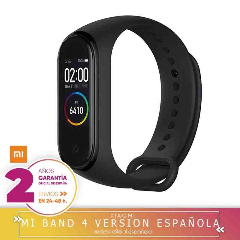 -Version officielle et garantie Española-Xiao mi bande 4 Smartwatch Bracelet intelligent 0.95 pouces AMOLED écran couleur Monit
