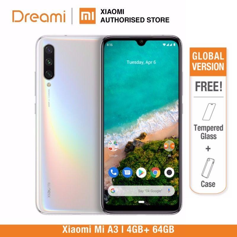 Version globale Xiaomi Mi A3 64GB ROM 4GB RAM (officielle) mi a364gb