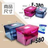 POKA F-380 防潮箱送乾燥劑-適用相機攝影機手機手錶鏡頭3C食品藥品-另有售F-580-豆花伯生活館