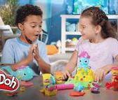 【Ym-168】培樂多Play-Doh 創意DIY黏土 彎彎章魚遊戲組 附中文說明書+八色組 補充罐