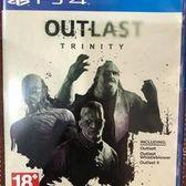中古 PS4 絕命精神病院 三重包 Outlast Trinity (英文版)
