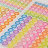 [2017 HOBO 週邊 現貨] HIGHTIDE 半透明手帳圓點貼紙-粉色