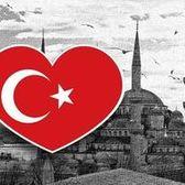 【國旗商品創意館】土耳其國旗抗UV、防水愛心形旅行箱貼紙/Turkey/各國都有販賣和客製