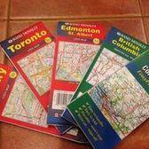 Edmonton & St. Albert - 艾德蒙頓/聖艾伯特 (亞伯達省 Alberta/加拿大 Canada)-  Rand McNally系列 地圖 MAP