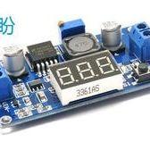 【盼盼407】 LM2596 降壓模組  DC-DC 5A 大功率 帶電壓表顯示 電壓表可自動校正 輸入DC4V~38V
