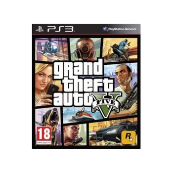 Grand Theft Auto V – PS3 Game