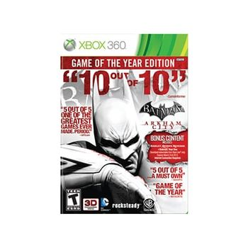 Batman Arkham City GOTY – Xbox 360 Game