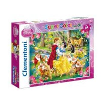 Παζλ Χιονάτη Maxi Color Disney (24 Maxi Κομμάτια)