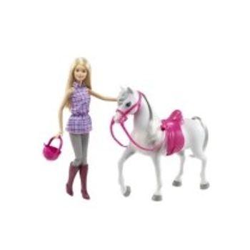 Κούκλα Barbie και Άλογο