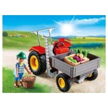 PLAYMOBIL 6131 Αγροτικό Τρακτέρ
