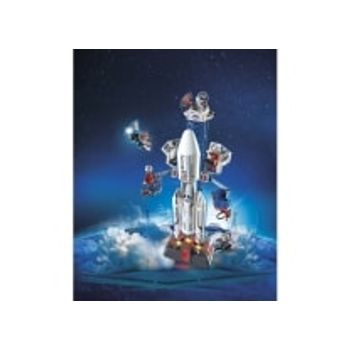 PLAYMOBIL 6195 Διαστημικός Πύραυλος με Βάση Εκτόξευσης
