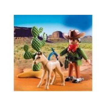 PLAYMOBIL 5373 Cowboy με Πουλάρι