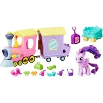 Σετ My Little Pony Explore Equestria Friendship Express με Φιγούρα Μίνι