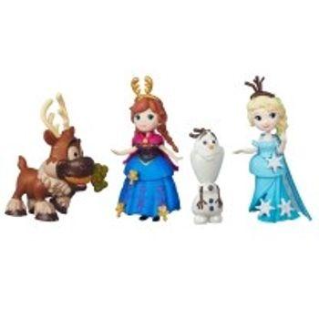 Κούκλα Μίνι Frozen Πριγκίπισσα Άννα, Έλσα & Friends (1 Σετ)