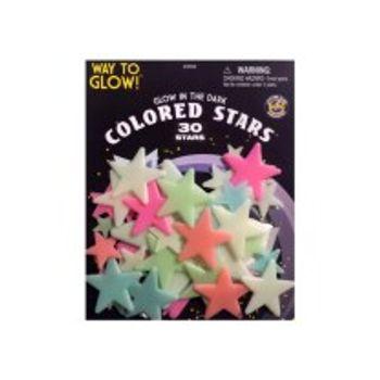 Αυτοκόλλητα Χρωματιστά Αστεράκια (50 Τεμάχια)