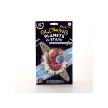 Αυτοκόλλητα Planets and Stars Φωσφορούχα (30 Τεμάχια)
