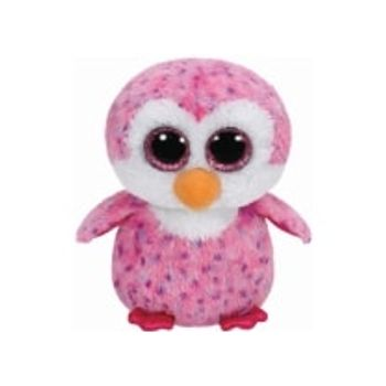 Λούτρινο Πιγκουίνος Ροζ 23cm TY Beanie Boos